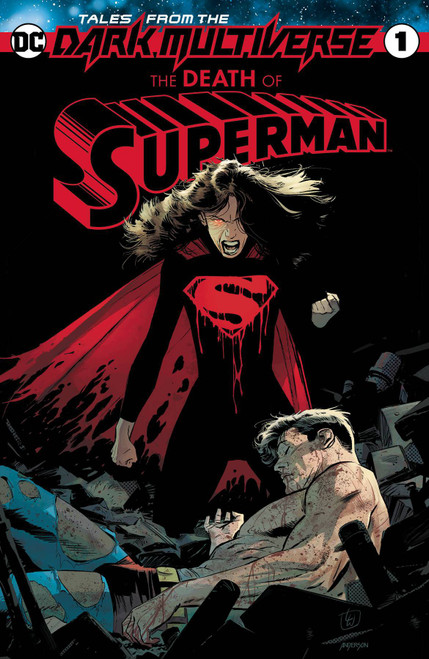 DC Tales from the Dark Multiverse #1 Death of Superman Comic Book