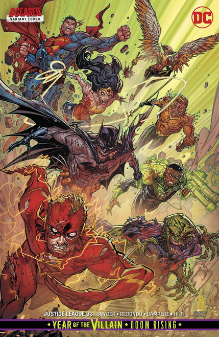 DC Justice League #33 Comic Book [Jonboy Meyers Variant Cover]