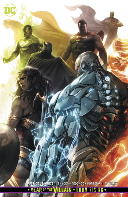 DC Justice League #34 Comic Book [Francesco Mattina Variant Cover]