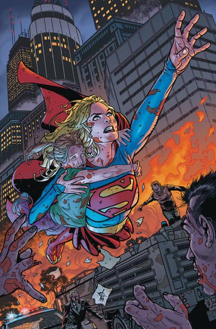 DC Supergirl #35 Comic Book [Drew Johnson Variant Cover]