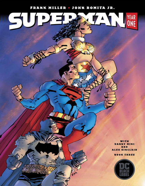 DC Black Label Superman Year One #3 of 3 Comic Book [Frank Miller Cover]