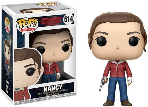 Funko Stranger Things POP! TV Nancy Wheeler Vinyl Figure #514 [Holding Gun, Damaged Package]