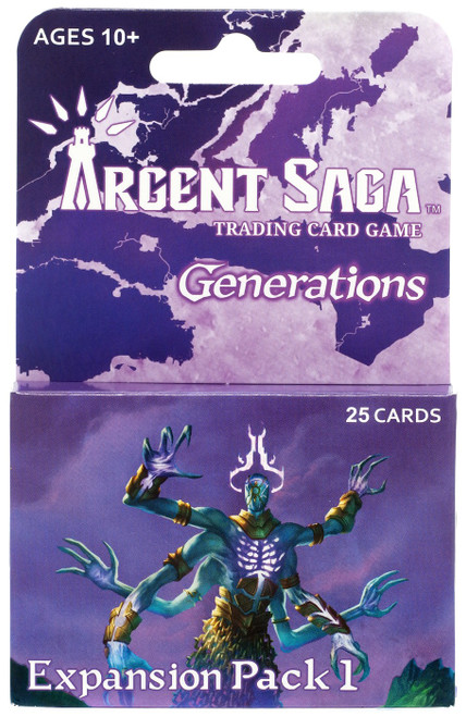 Argent Saga TCG Generations Expansion Pack 1