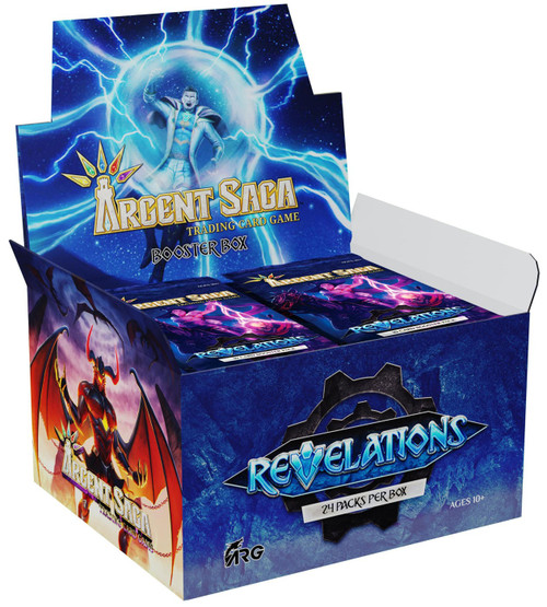 Argent Saga TCG Set 2: Revelations Revelations Booster Box [24 Packs]
