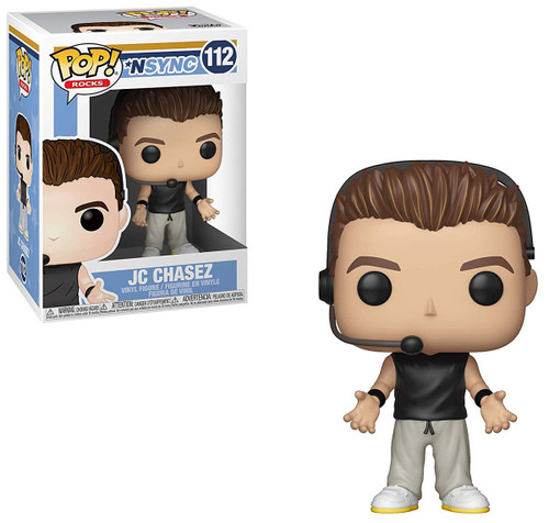 Funko NSYNC POP! Rocks JC Chasez Vinyl Figure [Damaged Package]
