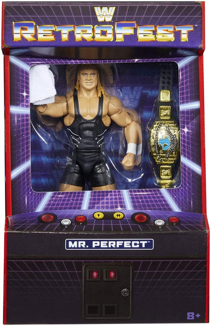 WWE Wrestling Elite Collection RetroFest Mr. Perfect Action Figure