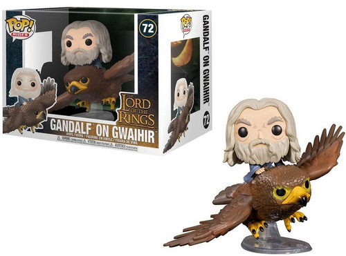 Funko Lord of the Rings POP! Rides Gandalf on Gwaihir Vinyl Figure #72