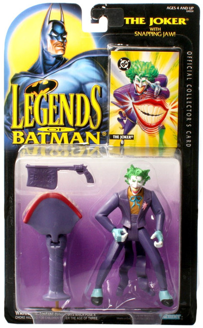 DC Legends of Batman The Joker Action Figure [with Snapping Jaw]