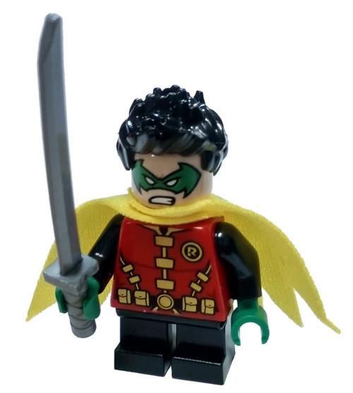 LEGO DC Universe Super Heroes Batman II Robin Minifigure [Green Mask Loose]
