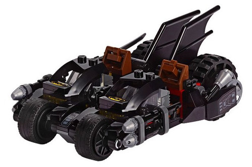 LEGO DC Super Heroes Batcycle [Dual Cockpit, Without Minifigures Loose]