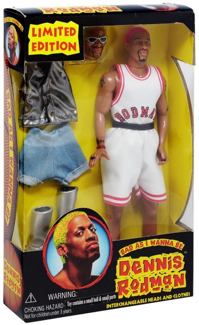 Dennis Rodman Action Figure [Bad as i Wanna Be, Damaged Package]
