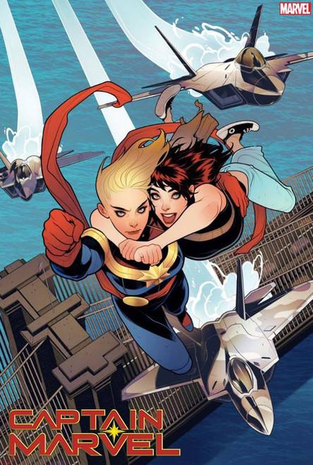 Marvel Comics Captain Marvel #11 Comic Book [Elizabeth Torque Variant Cover]