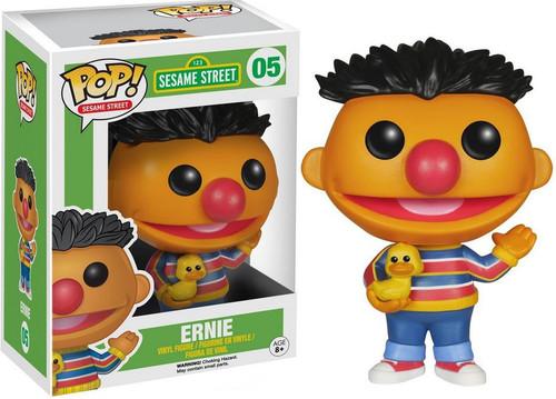 Funko Sesame Street POP! TV Ernie Vinyl Figure #05 [Damaged Package]