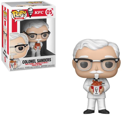 Funko KFC POP! Icons Colonel Sanders Vinyl Figure #05 [Damaged Package]