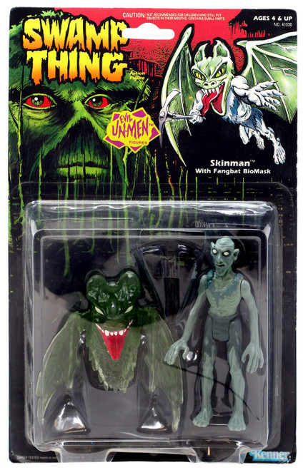 DC Swamp Thing Evil Unmen Skinman Action Figure [with Fangbat Biomask]