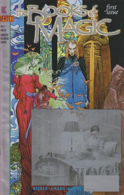 DC Vol. 2 Books of Magic #1 Comic Book [Fine/Very Fine]