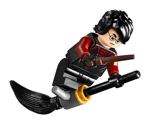 LEGO Goblet of Fire Harry Potter Minifigure [With Broom and Wand Loose]