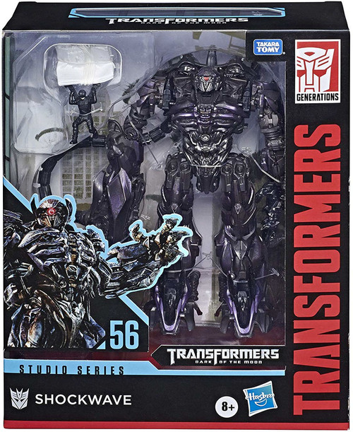 Transformers Generations Studio Series Shockwave Leader Action Figure #56