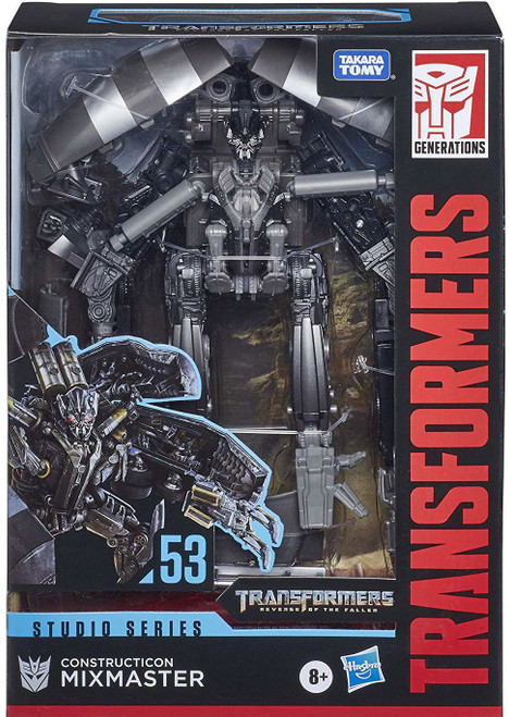 Transformers Generations Studio Series Mixmaster Voyager Action Figure #53