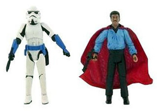 Star Wars Expanded Universe Comic Packs 2007 Lando Calrissian & Stormtrooper Exclusive Action Figure 2-Pack