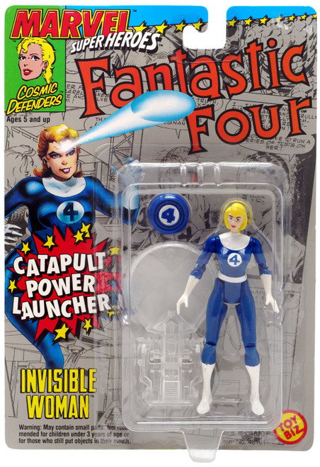 Marvel Fantastic Four Super Heroes - Cosmic Defenders Invisible Woman Action Figure [Catapult Launcher]