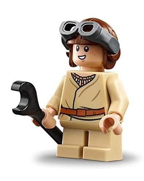LEGO Star Wars Episode 1 Anakin Skywalker Minifigure [Aviator Cap Loose]