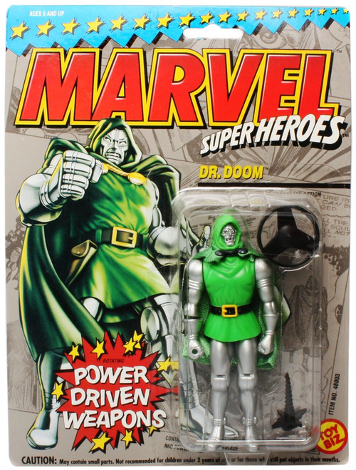 Marvel Super Heroes Dr. Doom Action Figure [Power Driven Weapons]