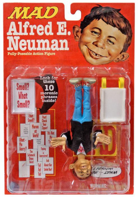 MAD Magazine Alfred E. Neuman Action Figure