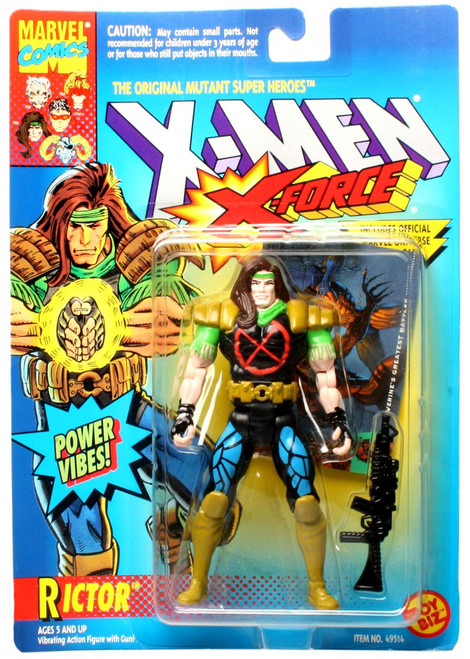 Marvel X-Men X-Force Rictor Action Figure [Power Vibes]