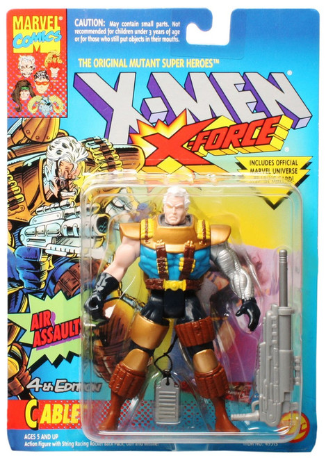 Marvel X-Men X-Force Cable Action Figure [Air Assault, 4th Edition]