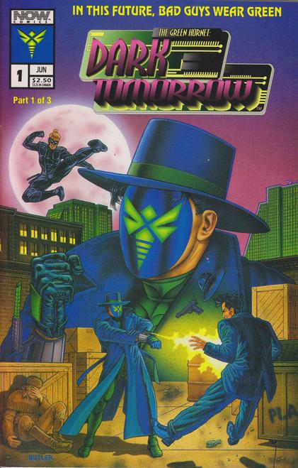 Now Comics Green Hornet #1 Dark Tomorrow Comic Book