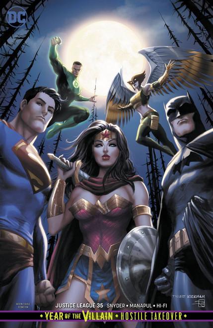 DC Justice League #35 Comic Book [Tyler Kirkham Variant Cover]