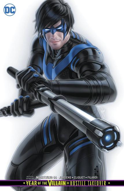 DC Nightwing #66 Comic Book [Warren Louw Variant Cover]