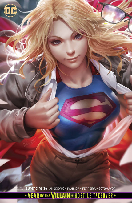 DC Supergirl #36 Comic Book [Derrick Chew Variant Cover]