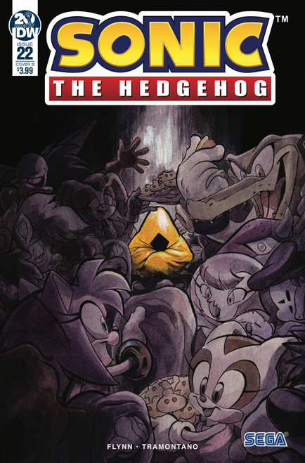 IDW Sonic The Hedgehog #22 Comic Book [Diana Skelly Variant Cover]