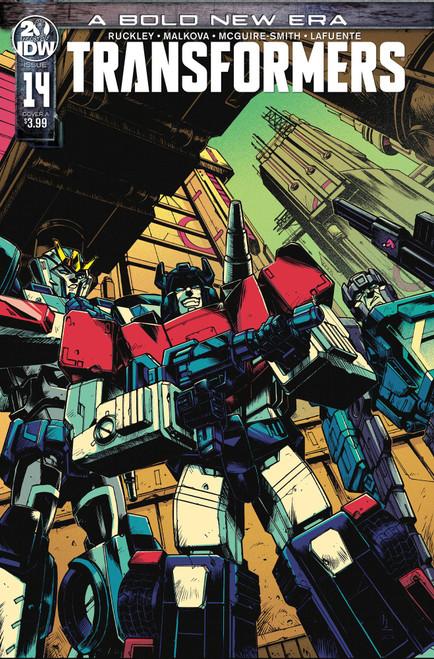 IDW Transformers #14 Comic Book