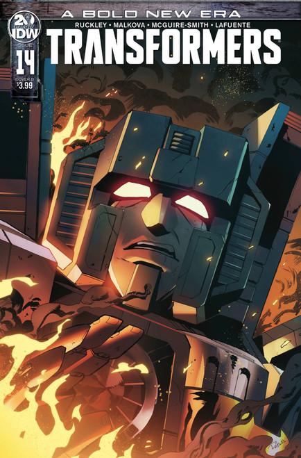 IDW Transformers #14 Comic Book [Priscilla Tramontano Variant Cover]