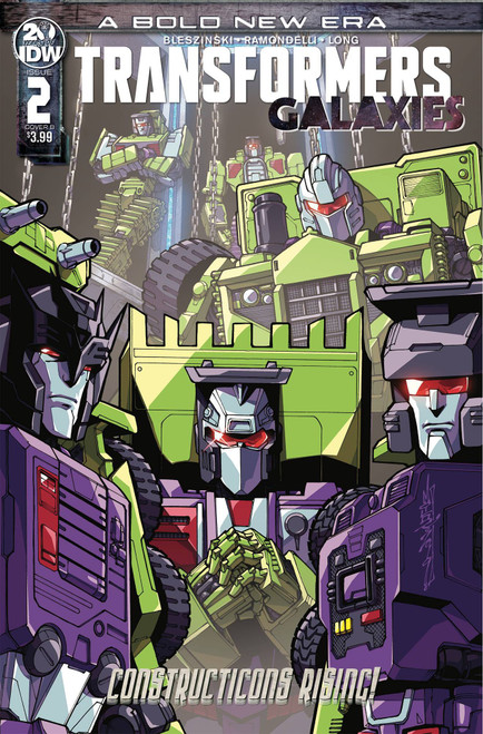 IDW Transformers Galaxies #2 Comic Book [Alex Milne Variant Cover]