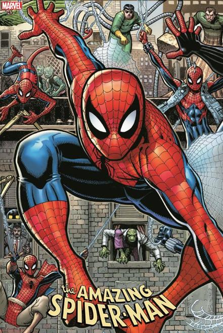 Marvel Comics Amazing Spider-Man #32 Comic Book [Arthur Adams Connecting Variant Cover]