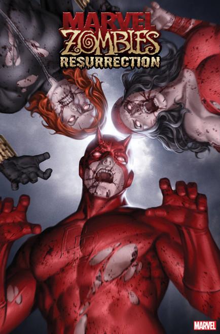 Marvel Comics Marvel Zombies Respawn #1 Comic Book [Jung-Geun Yoon Variant Cover]