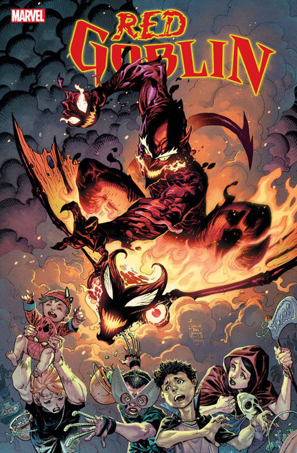 Marvel Comics Red Goblin #1 Red Death Comic Book