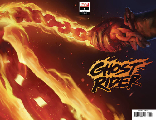 Marvel Comics Ghost Rider #1 Comic Book [Rahzzah Variant Cover]