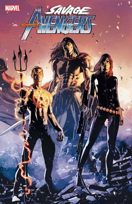 Marvel Comics Savage Avengers Annual 1 Comic Book