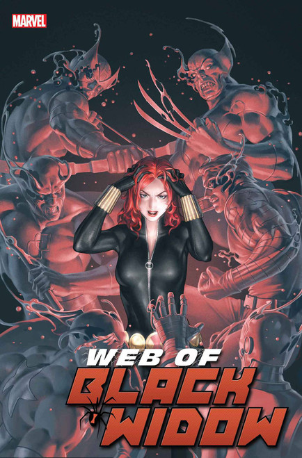 Marvel Comics Web of Black Widow #2 Comic Book