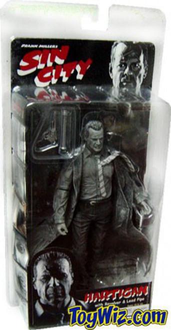 NECA Sin City Series 1 John Hartigan Action Figure [Black & White]