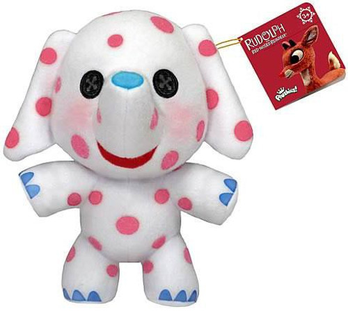 Rudolph the Red-Nosed Reindeer Funko 7 Inch Plushies Spotted Misfit Elephant Plush