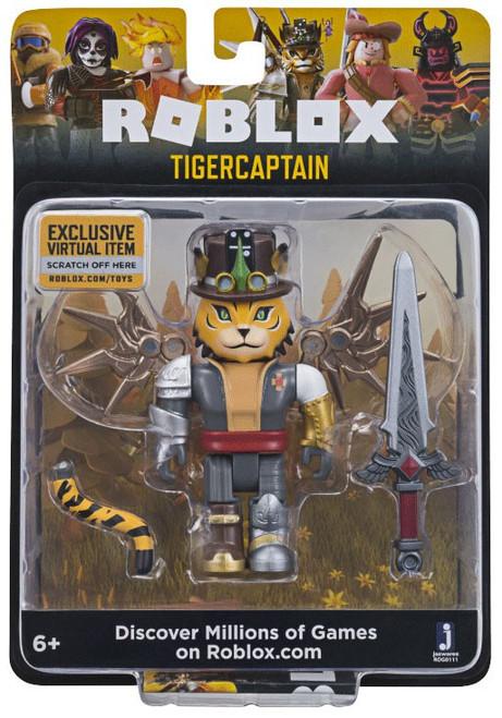Roblox TigerCaptain Action Figure