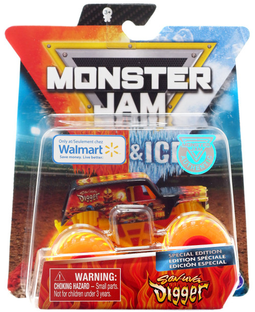 Monster Jam Fire & Ice Son-Uva Digger Exclusive Die Cast Car