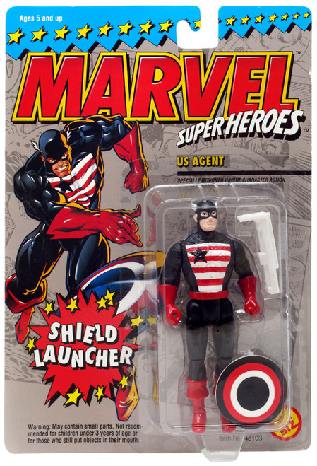 Marvel Super Heroes US Agent Action Figure [Shield Launcher]