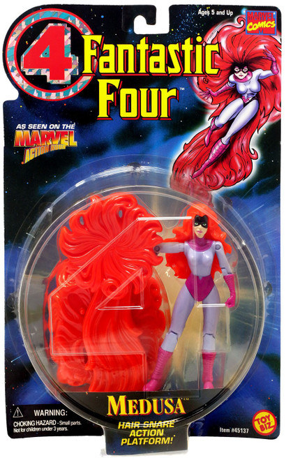 Marvel Fantastic Four Medusa Action Figure [Hair Snare Action Platform]